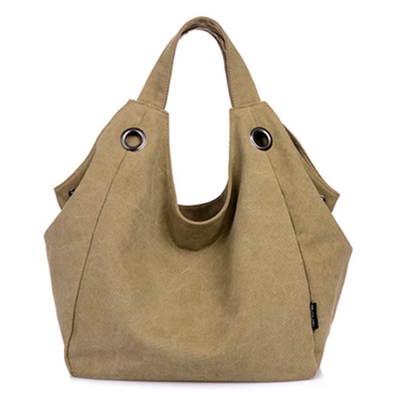 Fashion Tote Messenger Bag Women Shoulder Bags Vintage Canvas Hobo Crossbody bags Female Tote Large Shopping Satchel Handbags women canvas messenger bags female crossbody bags solid shoulder bag fashion casual designer handbag large capacity tote gifts