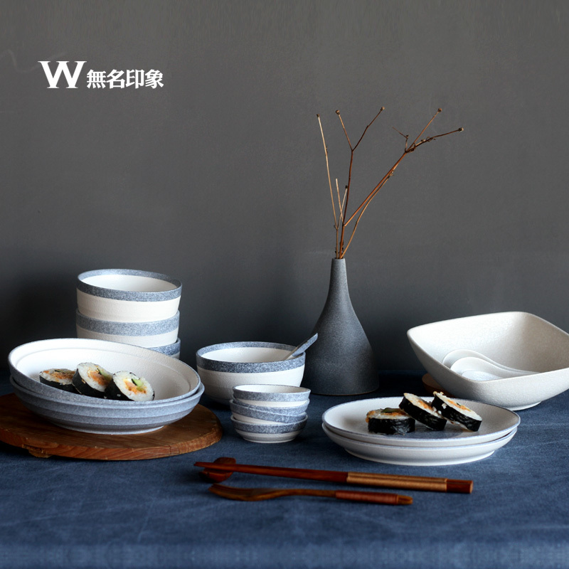 Delicieux Japanese Ceramic Tableware Set Cutlery Crockery Chinese Crockery Cutlery  Gift Box Set Continental In Dinnerware Sets From Home U0026 Garden On  Aliexpress.com ...