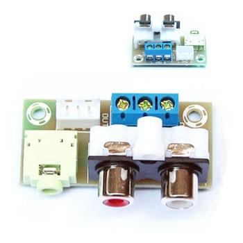 DIY Kit Audio Switch Board RCA 3.5mm Audio Input Block For Amplifier Electronic Kits gold earrings for women