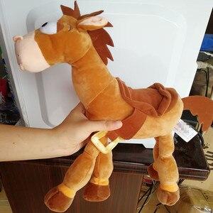 Image 3 - 35CM 55CM Bullseye Plush Toy The Horse for Children Kids Gift