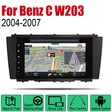 Android Car DVD GPS Navi For Mercedes Benz C Class W203 2004~2007 NTG player Navigation WiFi BT Mulitmedia system audio stereo цена