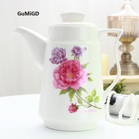 Kettle Ceramic household High temperature cold water kettle Heat-resisting large teapot Cold water cup Large capacit