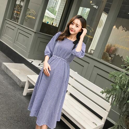 231ebe55cb74c Strapless A Line Plaid Maternity Long Dress Summer Slip Dress Clothes for  Pregnant Women Sexy Pregnancy Party Dress DW857-in Dresses from Mother    Kids on ...