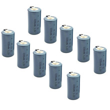 цена на High quality 10PCS/LOT Sub C SC 1.2V 3200mAh Ni-Cd Ni Cd Rechargeable Battery Batteries  Free shipping