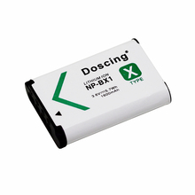 NP-BX1 NP BX1 Camera Battery pack for SONY DSC RX1 RX100 RX100iii M3 M2 RX1R WX300 HX300 HX400 HX50 HX60 GWP88 PJ240E AS15 WX350