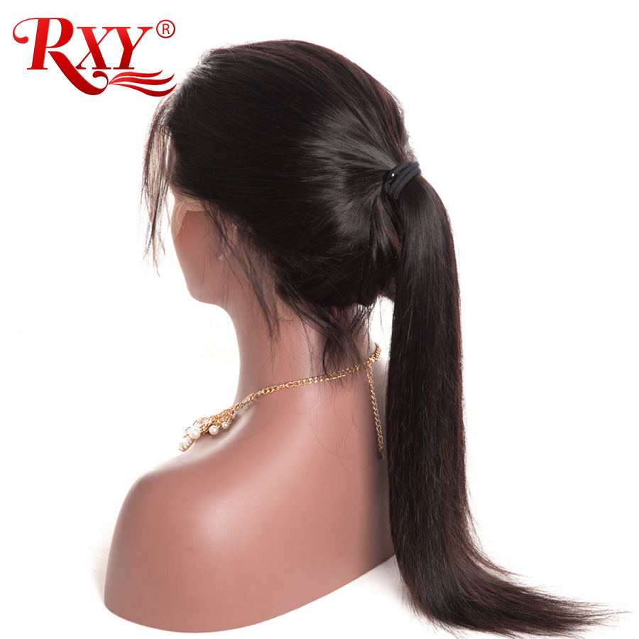RXY Full Lace Front Human Hair Wigs For Black Women Pre Plucked Full Lace Human Hair Wigs With Baby Hair Peruvian Remy Hair Wig (13)