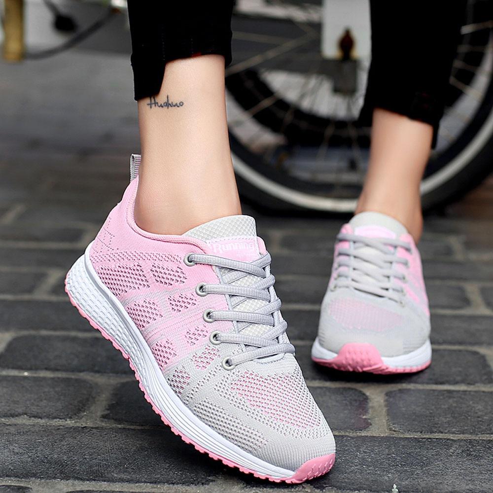 hot Sagace Plate D'été Chaussures Zapatos De Pink 26 Mujer Plat Femmes Black Jl Léger Mesh gray Mode Sneakers forme rrWTd8wq