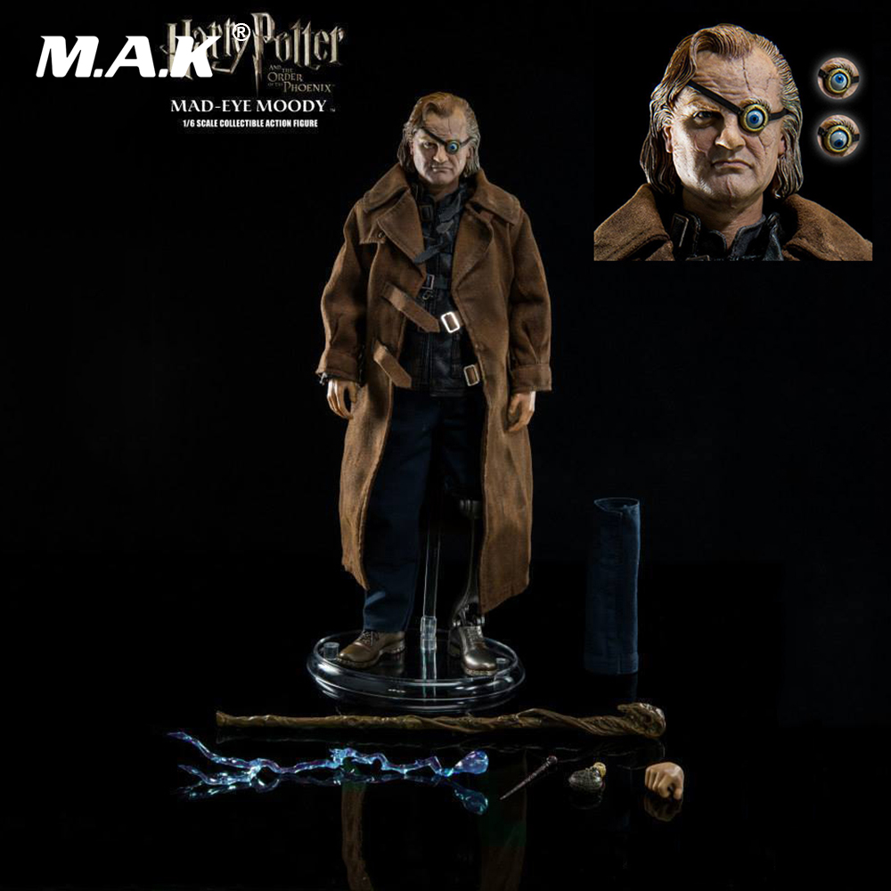 1/6 Collectible Full Set Figure Model Toys Mad-Eye Moody Action Figure Harry Potter Order of the Pheonix with Original Box Gift 3a 1 6 the walking dead merle dixon collectible action figure toy 1 6 doll collection full set action figure with original box