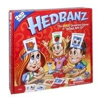 74 карты HEDBANZ игра What am I Вечерние игры Дорожная игра для детей и взрослых семья развлечение Kill time игрушка ТВ-шоу догадка кто игра
