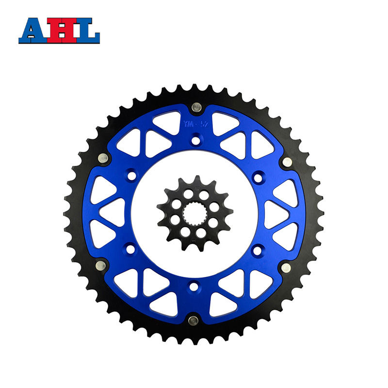Motorcycle Parts 52-13 T Front & Rear Sprockets Kit For YAMAHA YZ125 YZ 125 2005-2014 Gear Fit 520 Chain стоимость
