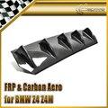 For BMW 2002-2008 Z4 Z4M Roadster Carbon Fiber Rear Diffuser (Bolt On) Carbon Fiber