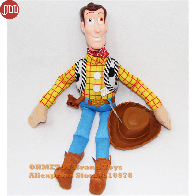4f5460b03de95 OHMETOY Toy Story Woody Plush Toy with Hat 40cm Cowboy Boy Birthday Gift Collection  Juguetes Brinquedos
