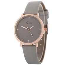 Современные красивые женские модные часы с кожаным ремешком аналоговые кварцевые круглые наручные часы bayan kol saati A2