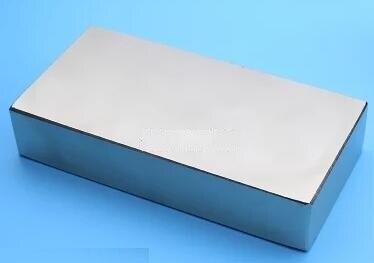 1шт большой блок 100mmx50mmx20mm тяговое усилие 50кг сильный неодимовый неодимовый постоянный magnets100*50*20мм