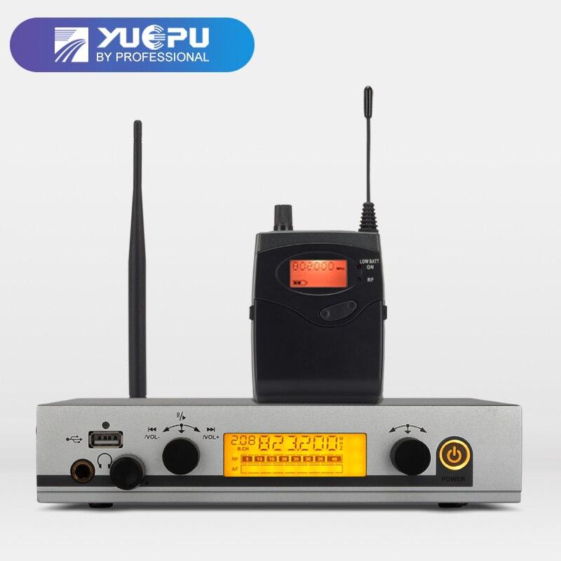 YUEPU RU-530 sans fil dans l'oreille moniteur système Sans Fil Surveillance Professionnel un canal émetteur personnel Stade Performance