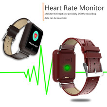 W30S Old Health Blood Heart Rate Smartwatch Waterproof GPS WIFI Base Triple Locations SOS One Button