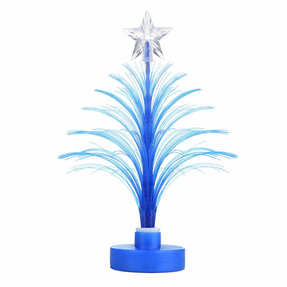 1 шт. Рождественская елка изменение цвета светодиодный светильник домашняя Рождественская елка изменение цвета лампа украшение дома @ P2