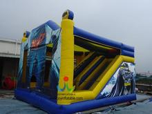 6*5M Custom Made inflatable bounce house, Castle Inflatable Bouncer with Slide