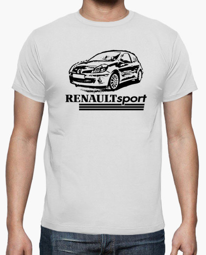 renault clio sport t shirt in t shirts from men 39 s clothing on alibaba group. Black Bedroom Furniture Sets. Home Design Ideas