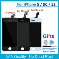 AAA Screen For IPhone 5 5S 5C LCD Display Touch Screen Assembly With Digitizer No Dead