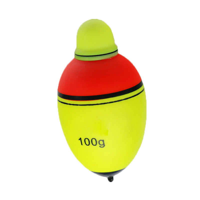 80g 100g Luminous Electronic Led Light Fishing Float Boia Can Change Color Stick Bobber Buoy Glowing Night Fishing Floats