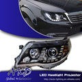 One-Stop Shopping Styling for Subaru Forester Headlight Forester LED Headlight DRL Lens Double Beam H7 HID Xenon Car Accessories