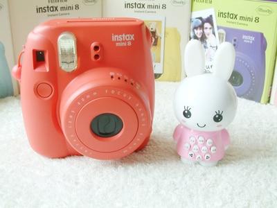 Fujifilm Instax Mini 8 Instantanee Film Photo Camera Couleur Rouge