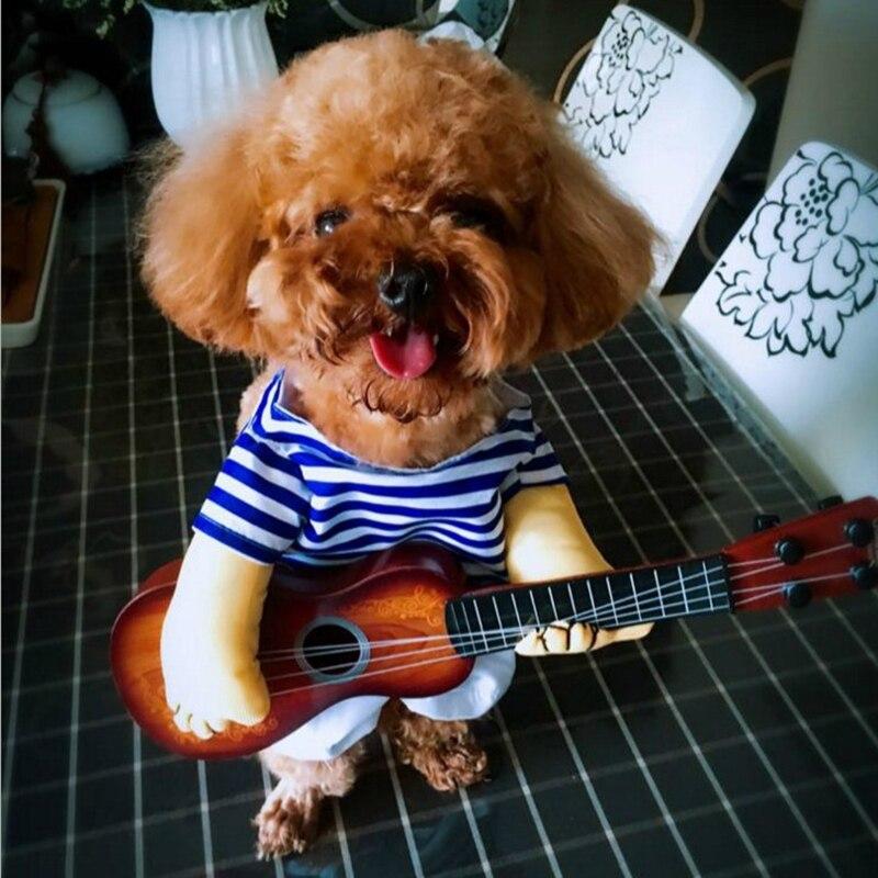 Funny Pet Guitar Costume
