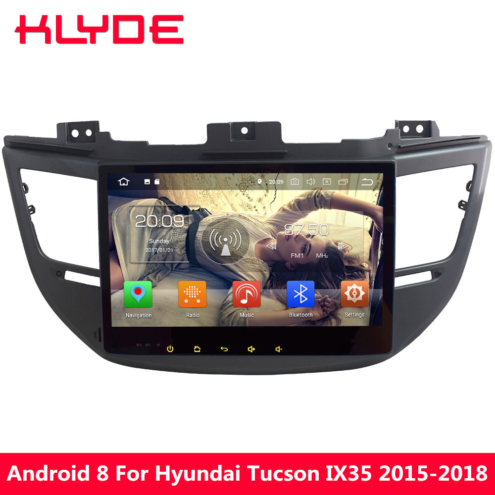KLYDE 10 1 Octa Core Android 9 0 4GB RAM 32GB ROM Car DVD Multimedia Player