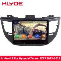 KLYDE 10.1 Octa Core Android 9.0 4GB RAM 32GB ROM Car DVD Multimedia Player Radio For Hyundai Tucson IX35 2015 2016 2017 2018