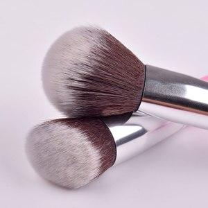 Image 5 - JAF 24 adet pembe makyaj fırçalar yüce yumuşak sentetik saç cilt dostu profesyonel makyaj tam fonksiyonlar fırça seti j2420Y P