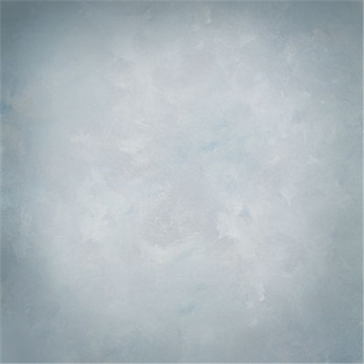 10x10FT Pulver Blau Grau Farbe Wand Portrait Fotografie