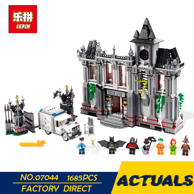 Лепин 07044 1165 шт. 76057 Super Hero паук веб-воины мост битва модель строительные блоки Кирпич указан образования детей