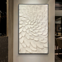 Diamond Paintings Full Diamond Drilling Feather Porch Vertical Edition Corridor Stone Painting Diamond Embroidery