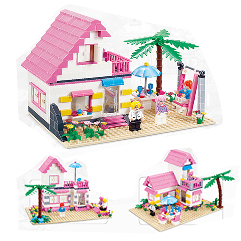 2017 Nya Bela Friends 10163 Heartlake Stables Girls Mia Farm Building Blocks 383st / set Bricks set girl toys