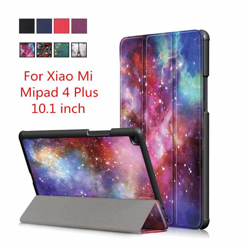 2018 новые планшет чехол Для Сяо mi pad 4 плюс mi Pad 4 плюс 10,1 дюймов Магнитный стенд умный оболочки кожи