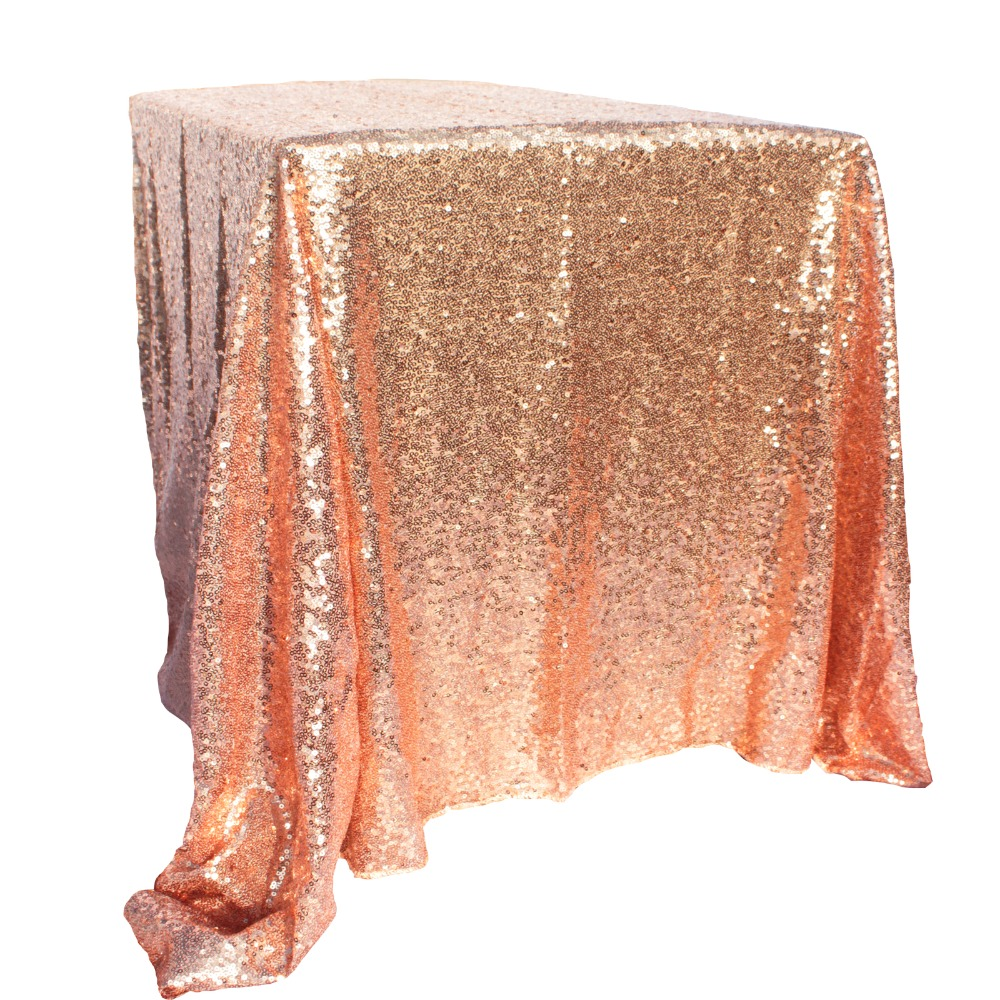 100x150cm Gold Sequin Tablecloth Rectangle Style For Wedding/Party/Banquet Wedding Table Cloth Decoration