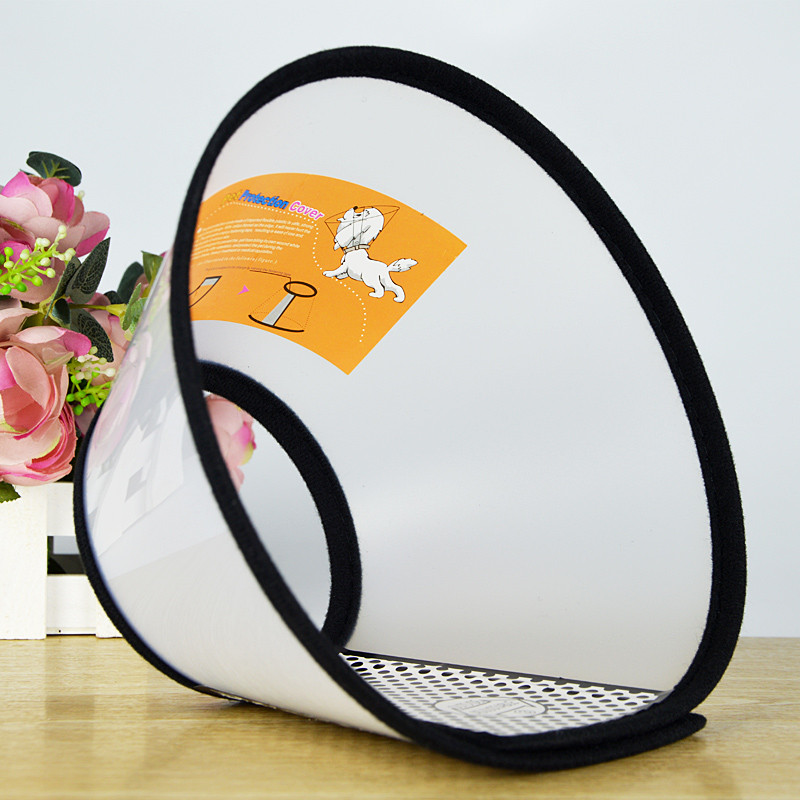 Transparent Dog Cat Protection Cover Wound Healing Cone Protective Pet Medical Collar Smart Cone Prevent Bite Pretty ingco