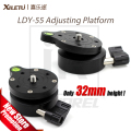 "XILETU LDY-55 Adjusting Platform for Tripod Monopod Semisphere Base Panoramic Head 1/4""-3/8"" screw Photography Accessories"