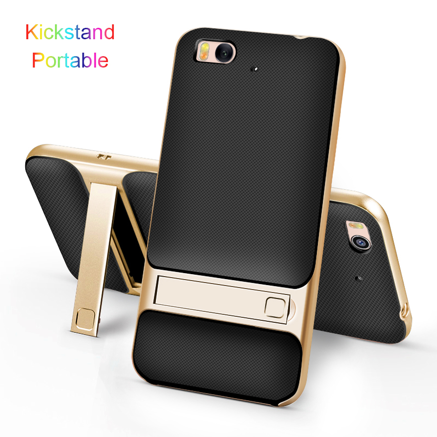 "3D Kickstand Original Case για Xiaomi Mi5S Mi 5S Cover 5.15 ""TPU + PC Silicone Hybrid 360 Protection Phone Back Armor Coque Fundas"