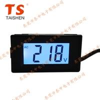 AC80 500V Two Line Digital Display Digital AC Voltage Meter LCD Liquid Crystal 380V 220V