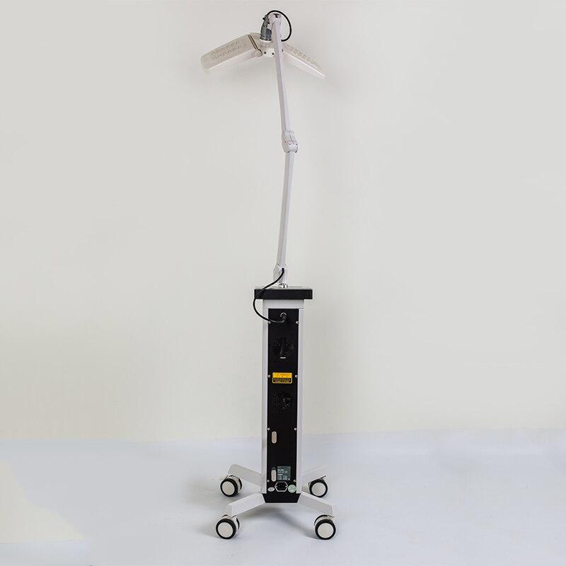 Photothérapie LED machine bleu rouge jaune infrarouge acné cicatrice traitement peau blanchir et serrer Double poignées LED PDT