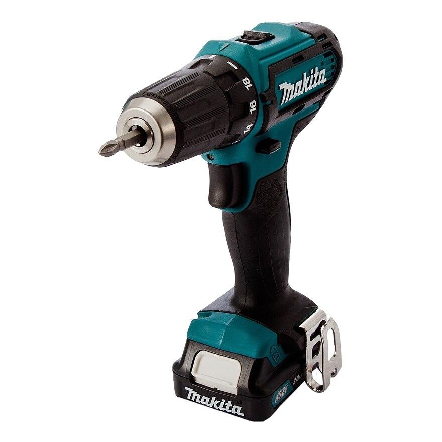 Cordless drill battery Makita HP332DWMX1 hq 12v cordless die grinder 6 speed cordless mini grinder 5000 32000rpm 2pcs 12v battery 3 0mm chuck