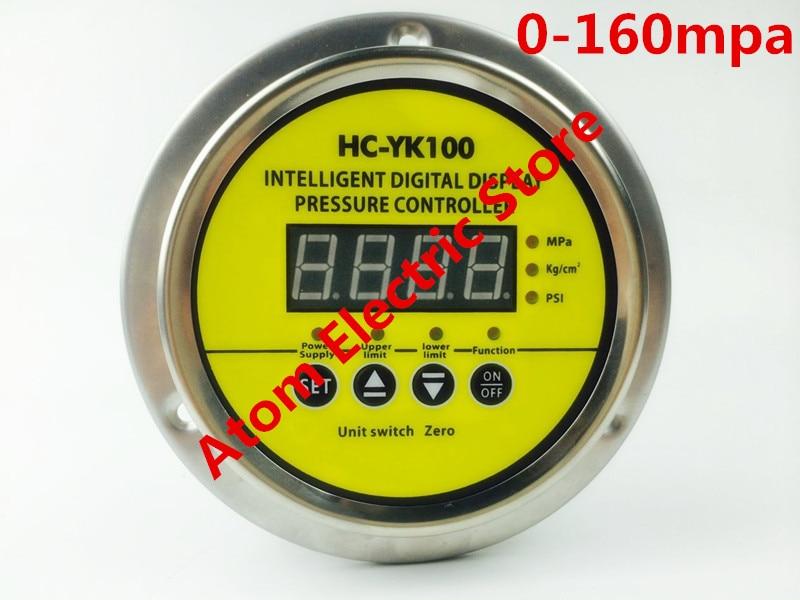 0-160 mpa  AC220V  Digital display electric contact pressure gauge digital controller dmx512 digital display 24ch dmx address controller dc5v 24v each ch max 3a 8 groups rgb controller