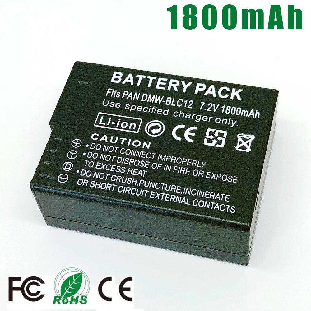 Li-ion batería para Panasonic Lumix Dmc-gh2h Dmw-blc12e Dmw-blc12 Lumix Dmc-fz200