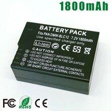 DMW-BLC12 DMW BLC12E BLC12PP BLC12 BP-DC12 Battery for Panasonic DMC-GX8 FZ1000 FZ200 FZ300 G5 G6 G7 G80 GH2 G85 FZ2500 V-LUX4