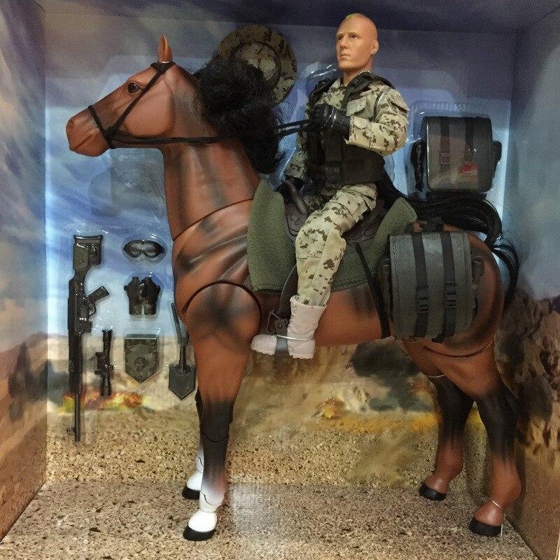 1/6 soldats de la paix du monde figurine d'action et cheval modèle militaire jouet anime figure enfants jouets pour enfants