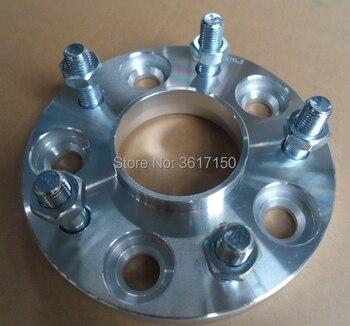 Entretoises/adaptateurs de roue de 25mm PCD 5x114.3 à 5x120 CB 67.1-72.56mm goujons de roue M12X1.5