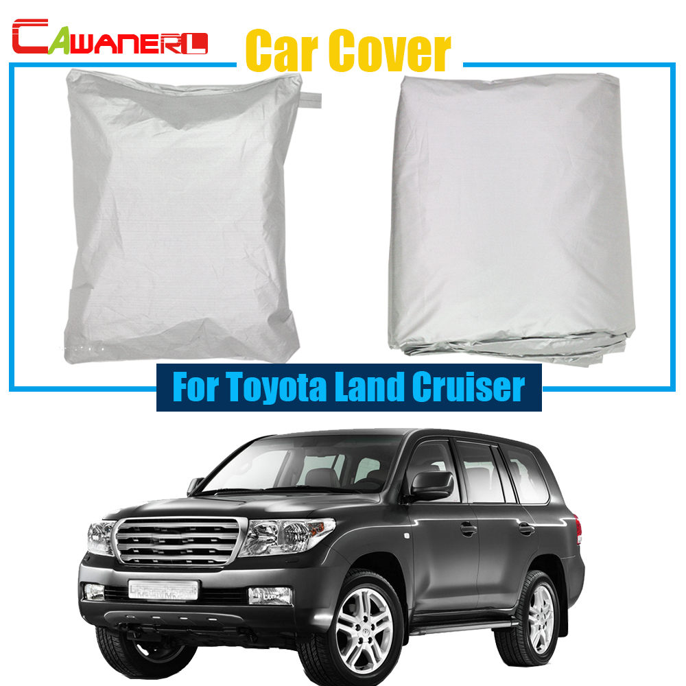 Cawanerl SUV Cover Car Anti UV Sun Shield Rain Snow Resistant Protector Cover Cover For Toyota
