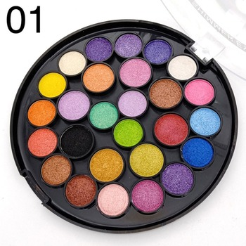 27-color pearl matte eye shadow tray makeup tray Eye Shadow